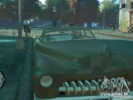 Hermes HD pour GTA 4 Vue arrière de la gauche