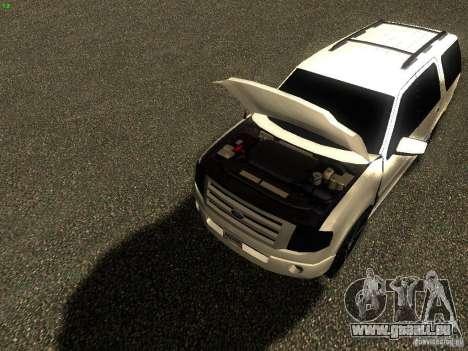 Ford Expedition 2008 für GTA San Andreas rechten Ansicht