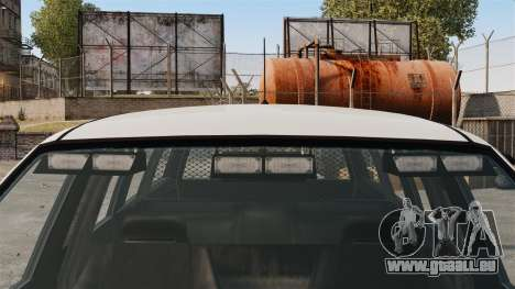 Police Landstalker ELS pour GTA 4 Vue arrière