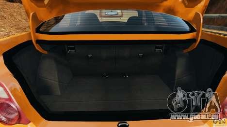 Subaru Impreza WRX STI 2005 pour GTA 4 est une vue de dessous