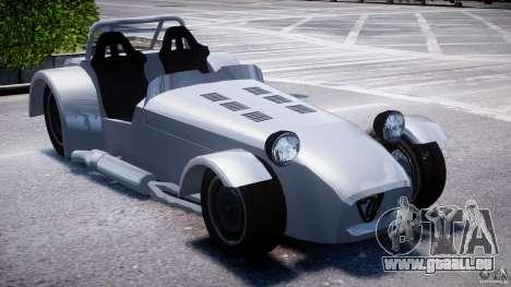 Caterham Super Seven für GTA 4 rechte Ansicht