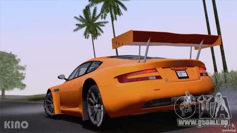 Aston Martin Racing DBRS9 GT3 für GTA San Andreas rechten Ansicht