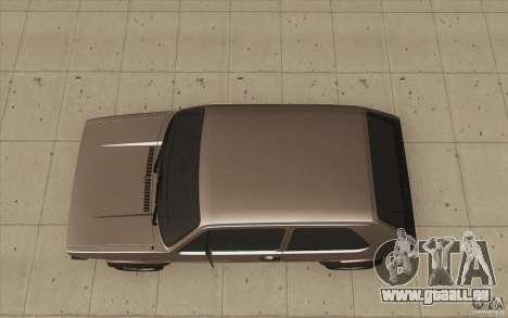 Volkswagen Golf Mk1 - Stock pour GTA San Andreas vue de droite