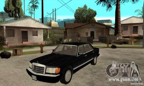 Mercedes Benz W126 560 v1.1 pour GTA San Andreas