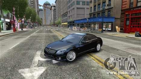 Mercedes-Benz CL65 AMG v1.5 pour GTA 4