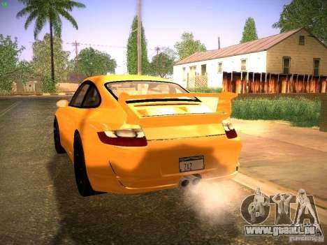 Porsche 911 für GTA San Andreas Rückansicht