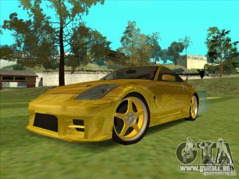 Nissan 350Z MORIMOTO from FnF 3 pour GTA San Andreas