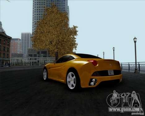 Ferrari California 2009 für GTA San Andreas linke Ansicht
