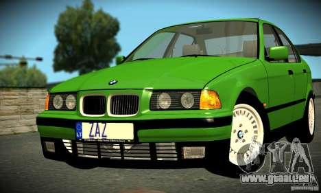 BMW E36 320i pour GTA San Andreas laissé vue