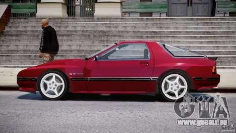 Mazda RX7 FC3S v2 FINAL pour GTA 4 est une gauche