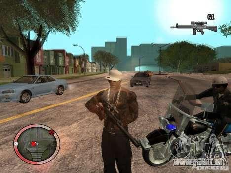 GTA IV HUD Final pour GTA San Andreas troisième écran