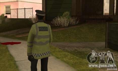 Une nouvelle Police pour GTA San Andreas troisième écran