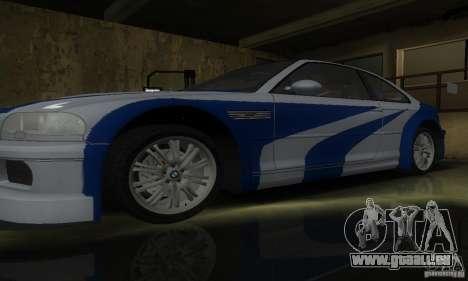 BMW M3 Tuneable pour GTA San Andreas