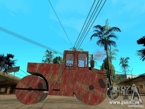 Cilindru Compactor für GTA San Andreas linke Ansicht