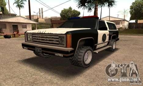 Lumineux clignotants pour GTA San Andreas quatrième écran