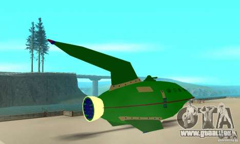 Planet Express für GTA San Andreas linke Ansicht