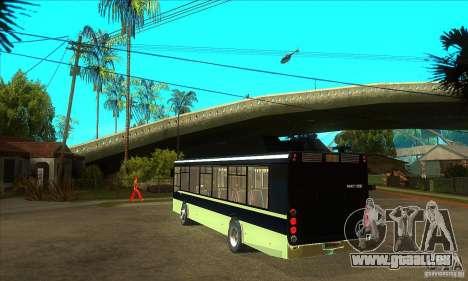 LIAZ 5256 für GTA San Andreas zurück linke Ansicht