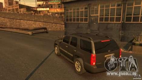 GMC Yukon 2010 für GTA 4 hinten links Ansicht