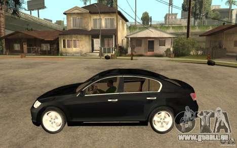 Lexus GS430 2007 pour GTA San Andreas laissé vue