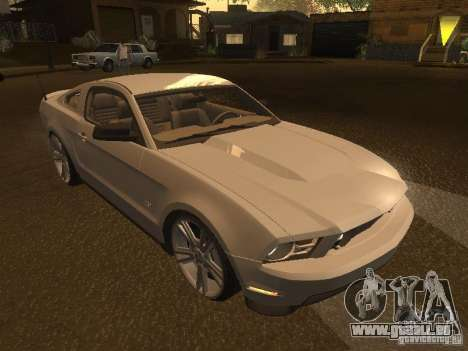 Ford Mustang 2011 GT für GTA San Andreas Seitenansicht