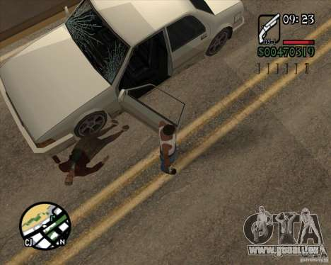 Endorphin Mod v.3 für GTA San Andreas achten Screenshot