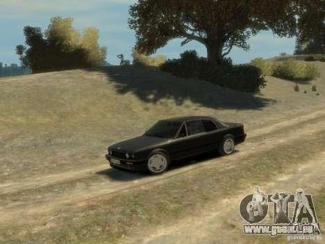 BMW 3-er E30 pour GTA 4 vue de dessus