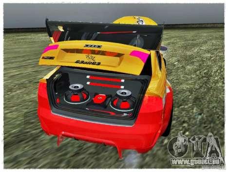 Audi RS4 Calibri-Ace für GTA San Andreas Rückansicht