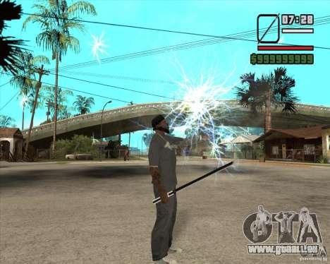 Sasuke sword pour GTA San Andreas quatrième écran