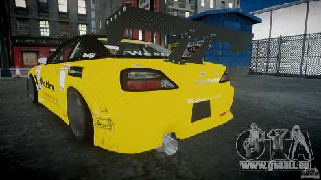 Nissan Silvia S15 v.3.0 für GTA 4 hinten links Ansicht