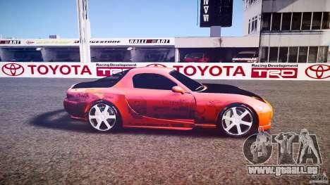 Mazda RX-7 ProStreet Style pour GTA 4 est une gauche