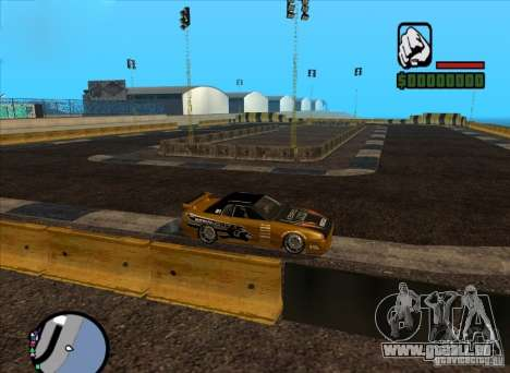 Nouvelle piste pour Drifter pour GTA San Andreas deuxième écran