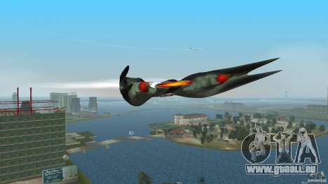 VX 574 Falcon pour une vue GTA Vice City de la gauche