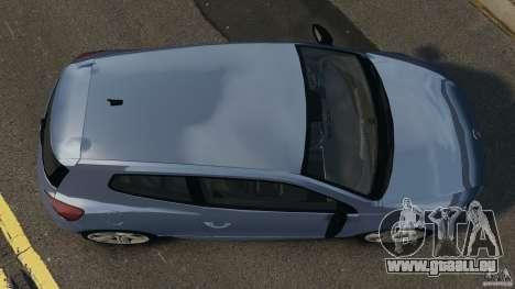 Volkswagen Scirocco R v1.0 pour GTA 4 est un droit