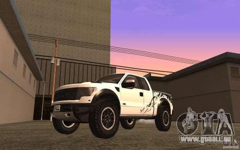 Ford F150 SVT RapTor für GTA San Andreas Seitenansicht
