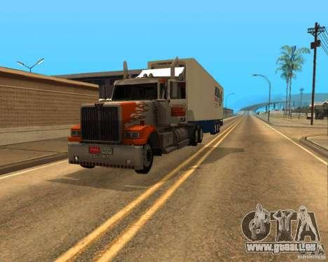 Western Star 4900EX v 0.1 pour GTA San Andreas