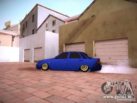 VAZ Lada 2170 Priora pour GTA San Andreas laissé vue