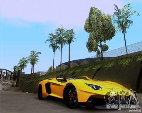 Lamborghini Aventador J TT Black Revel für GTA San Andreas rechten Ansicht