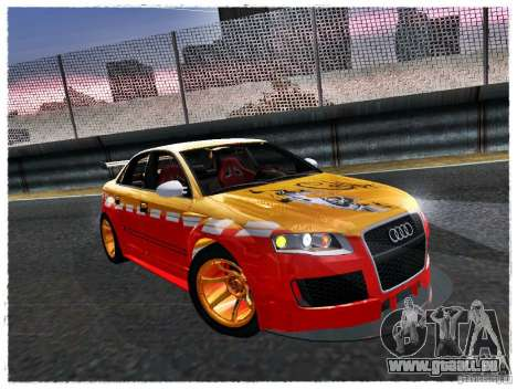 Audi RS4 Calibri-Ace für GTA San Andreas