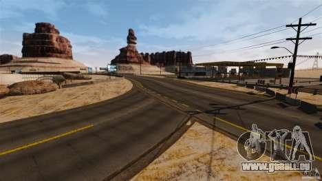 Ambush Canyon für GTA 4 siebten Screenshot