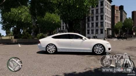 Audi A7 Sportback pour GTA 4 Vue arrière