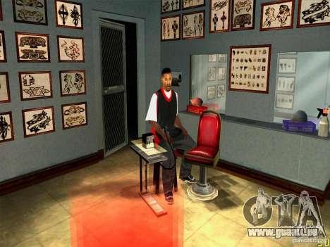 Verlegenheit Gesichts Animationen für GTA San Andreas dritten Screenshot