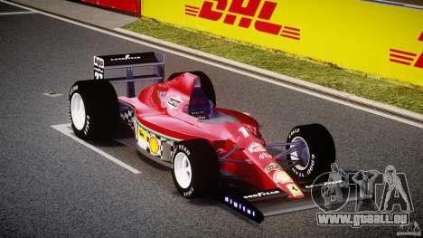 Ferrari Formula 1 pour GTA 4 Vue arrière