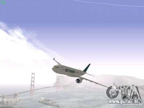 Airbus A330-200 Air Transat für GTA San Andreas