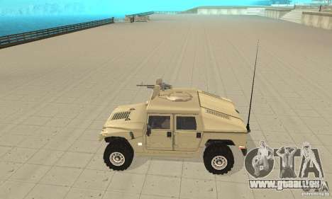 Hummer H1 für GTA San Andreas linke Ansicht