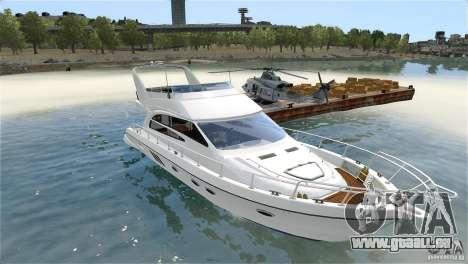 Luxury Yacht pour GTA 4 est une vue de l'intérieur