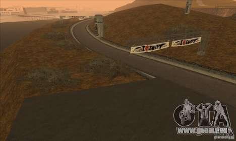 La route de NFS Prostreet pour GTA San Andreas troisième écran
