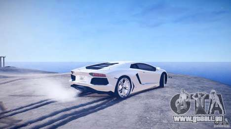Lamborghini Aventador LP700-4 v1.0 pour GTA 4 Vue arrière de la gauche