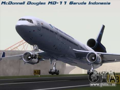 McDonnell Douglas MD-11 Garuda Indonesia pour GTA San Andreas