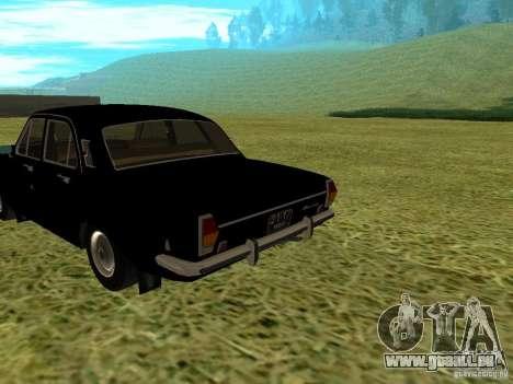Volga GAZ-24 01 pour GTA San Andreas laissé vue
