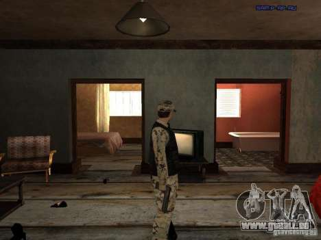 Army Soldier Skin für GTA San Andreas fünften Screenshot